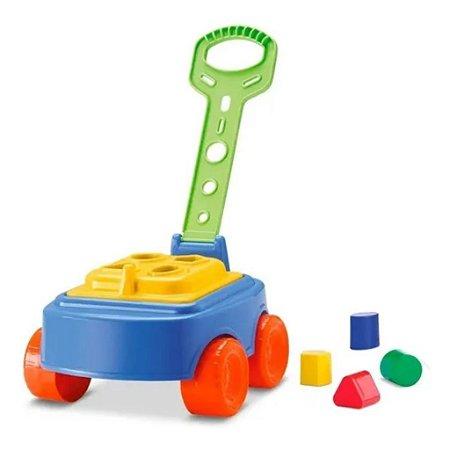 Carrinho Mipuxa Brinquedo Infantil Baby Land Cardoso
