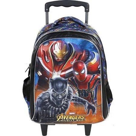 Mochila De Rodinha  Avengers Armored Vingadores Xeryus 7490