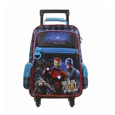 Mochila De Rodinhas 360º Avengers Vingadores Dmw 11632