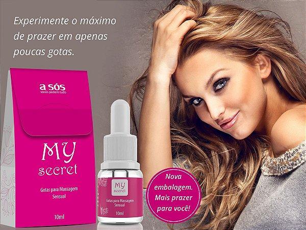 My Secret Excitante feminino 10ml