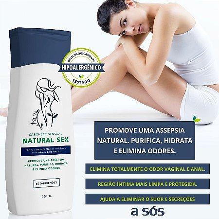 Natural Sex Sabonete Íntimo Líquido 250ml