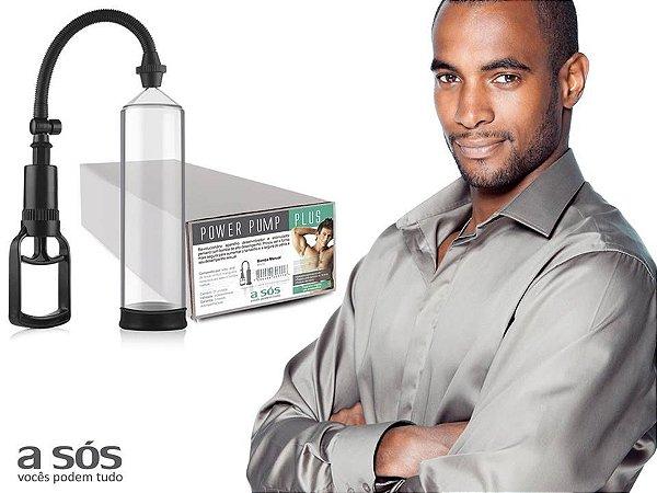Desenvolvedor Peniano Power Pump Plus Manual Transparente