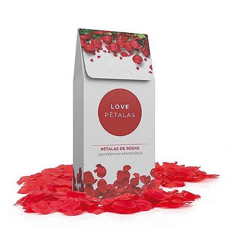 Love Pétalas Rosa Vermelha Perfumada (100 pétalas)