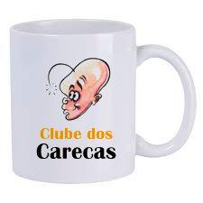 Caneca Personalizada Clube dos Carecas Retrô