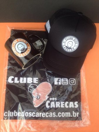 Kit Black Completo Clube dos Carecas-camiseta retrô