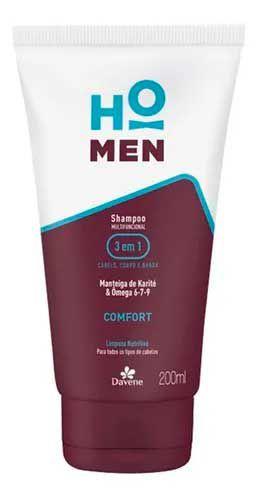 Shampoo multifuncional para pele da cabeça