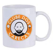 Caneca Personalizada Clube dos Carecas-Branca