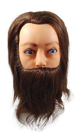 Manequim Masculino Com Barba Sem Suporte