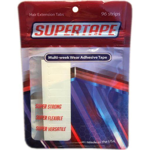 Fitas Adesivas Para Prótese Capilar Branca Super Tape 96 Unidades