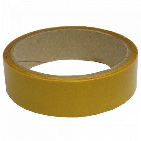 Fita Adesiva Amarela O&M 2,5cm Selecione o Tamanho