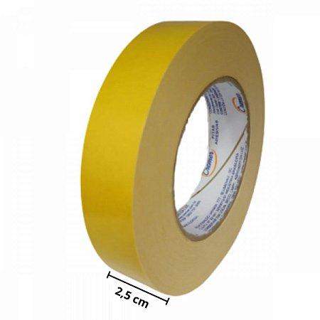 Fita Adesiva Cremer Amarela 30 metros x 2.5 cm 603