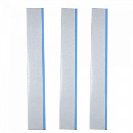 Fitas Adesivas Para Prótese Capilar Air Flex Bonding Azul 30 cm x 4.0 cm 3 unidades