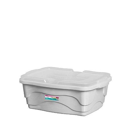 Caixa Organizadora Multiuso 10L - Branca - Plasmont