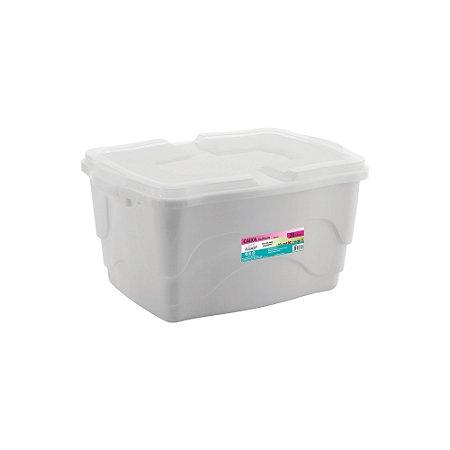 Caixa Organizadora Multiuso 20L - Branca - Plasmont
