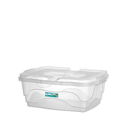 Caixa Organizadora Multiuso 10L - Transparente - Plasmont