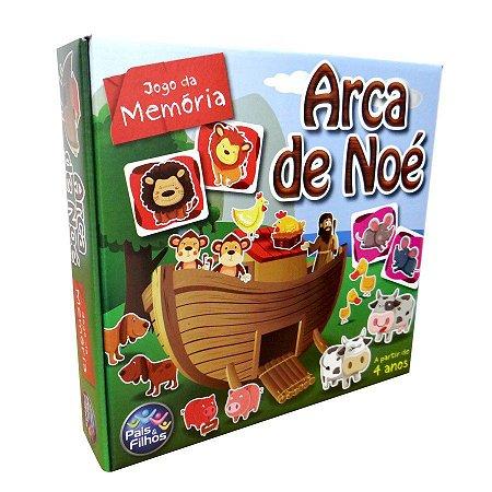 Jogo Da Memória - Arca De Noé - Pais & Filhos