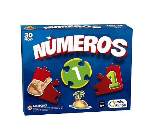 Números - 30 Peças - Pais & Filhos