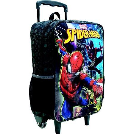 Mochila/Mala com Rodas 14 Spider Man - Xeryus