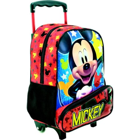 Mochila/Mala com Rodas 16 Mickey Hey Mickey - Xeryus