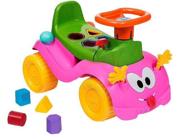Andador Totokinha Bolinha Menina - Cardoso Toys