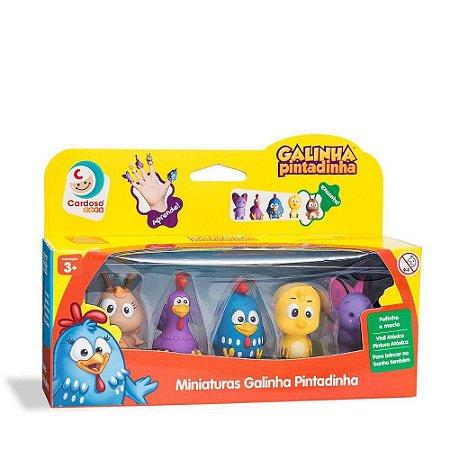 Miniatura Galinha Pintadinha - Cardoso Toys