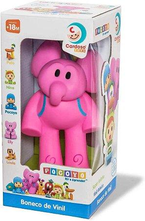 Boneca Elly de Vinil - Cardoso Toys