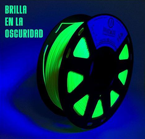FILAMENTO IMPRESSÃO 3D PRINTALOT PLA GLOW IN THE DARK 1,75MM 0,25KG