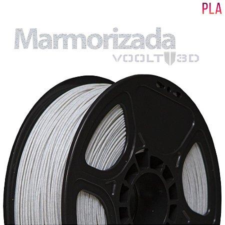 FILAMENTO IMPRESSÃO 3D VOOLT PLA MARMORIZADO 1KG