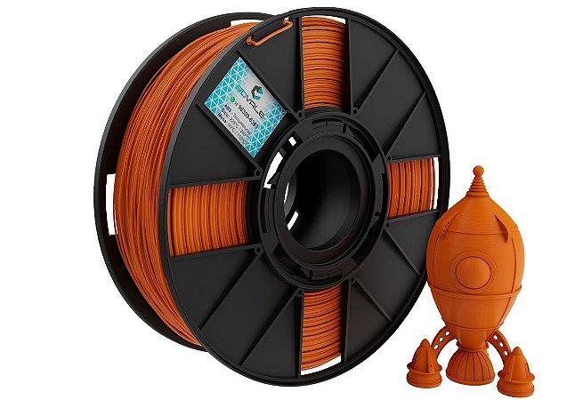 FILAMENTO IMPRESSÃO 3D 3DVALE ABS ABOBORA 1KG