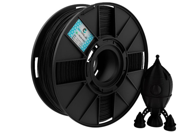 FILAMENTO IMPRESSÃO 3D 3DVALE ABS PRETO 1KG