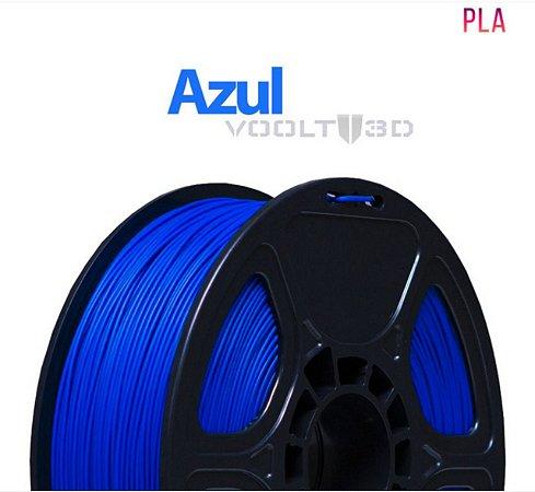 FILAMENTO IMPRESSÃO 3D VOOLT PLA AZUL 1KG
