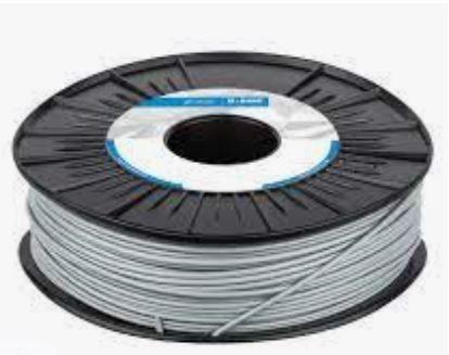 FILAMENTO 3D ULTRAFUSE BASF PLA PRO1 CINZA 1.75 750GR