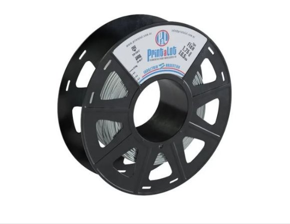 FILAMENTO IMPRESSÃO 3D PRINTALOT FLEX TPU PRATA 500GR