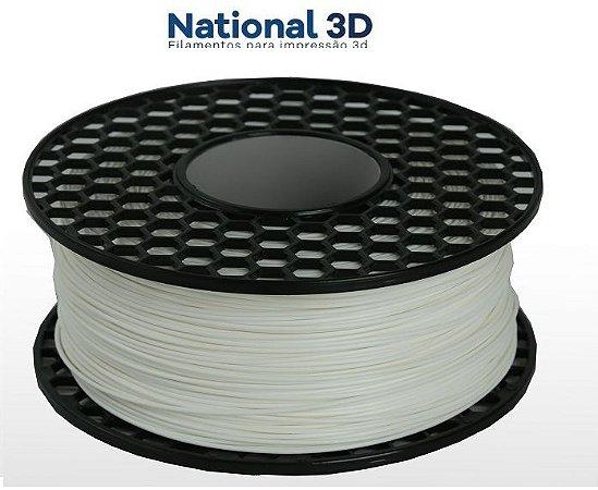 FILAMENTO IMPRESSÃO 3D NATIONAL PLA MAX BRANCO 1KG
