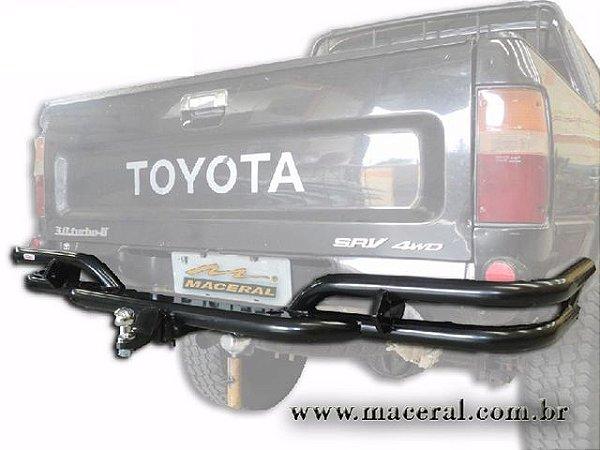 Para-Choque Tubular Traseiro Com Engate Removível e Tomada Elétrica 1992/2004 Toyota Hillux