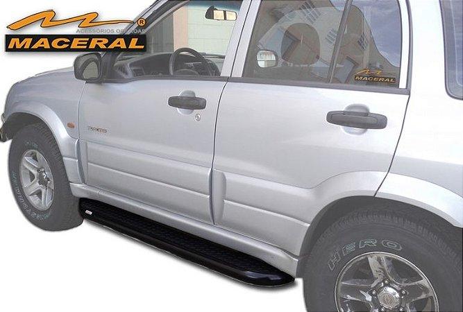 "Estribo Tracker Xadrez 2 1/2"" 2008/2009 Chevrolet"
