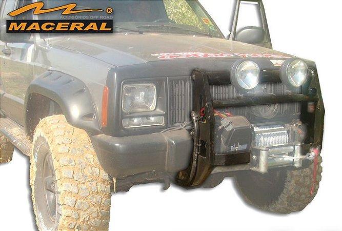 Protetor De Grade Frontal Com Mesa De Guincho Cherokee E Cherokee Sport