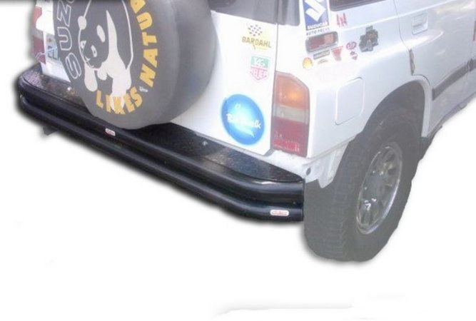 "Para-Choque Tubular Traseiro 3"" 1993/1997 Suzuki Vitara 3 Portas"