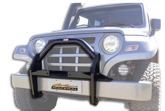 Protetor Grade Frontal Com Mesa De Guincho 2001/2008 Troller T4