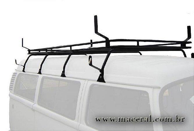 Bagageiro Kombi Teto Alto Com Suporte Para Escada Volkswagen