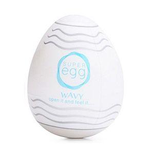 Masturbador Super Egg - Wavy