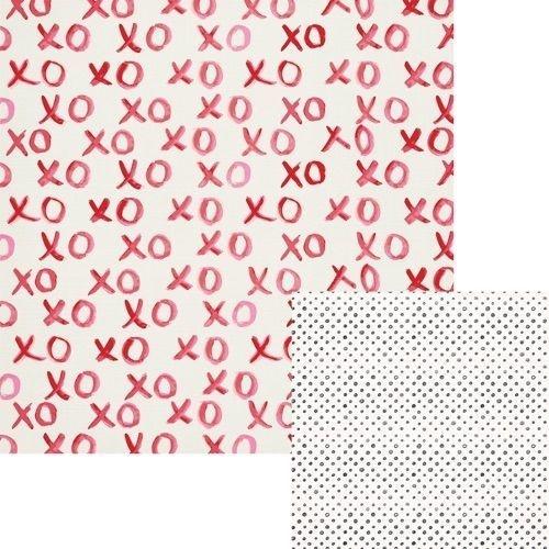 Papel Scrapbook - Crush - Xoxo - We R