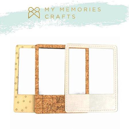 Kit 3 apliques molduras - My Crafts - My Memories Crafts