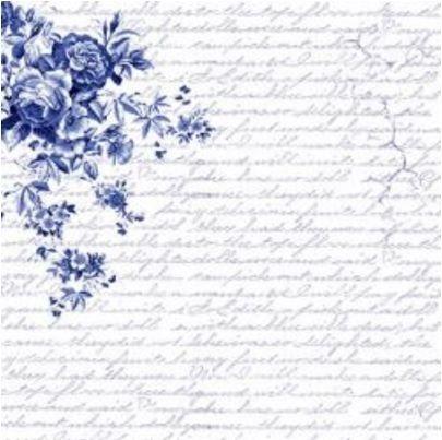 Papel para scrapbook - 30x30 Azulejo Português 3 - Arte Fácil