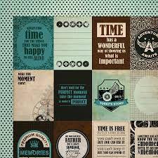 Papel Scrapbook - Time Machine - Gadget - Kaiser Crafts