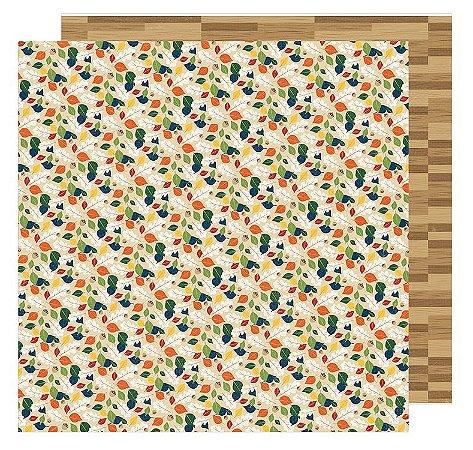 Papel Scrapbook - Pond  - American Crafts