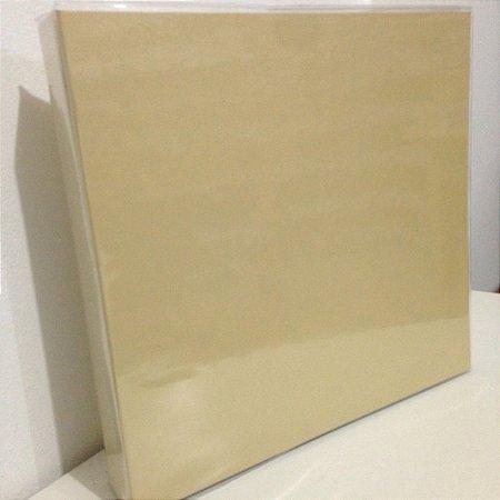 Álbum para scrapbook Bege - Oficina do Papel