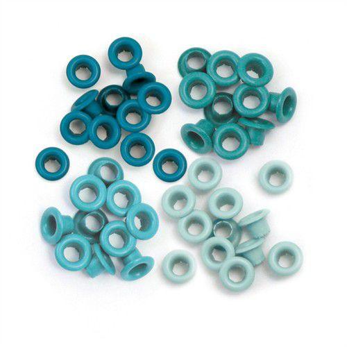 Ilhoses de alumínio tons azul Aqua- We R