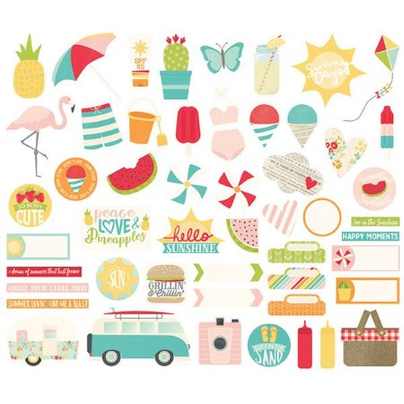Die Cuts Summer Days Simples Stories