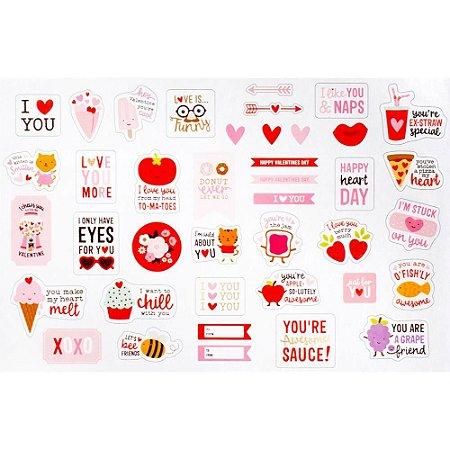 Die Cuts My Funny Valentines Pebbles